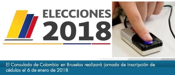 El Consulado de Colombia en Bruselas realizará jornada de inscripción de cédulas el 6 de enero