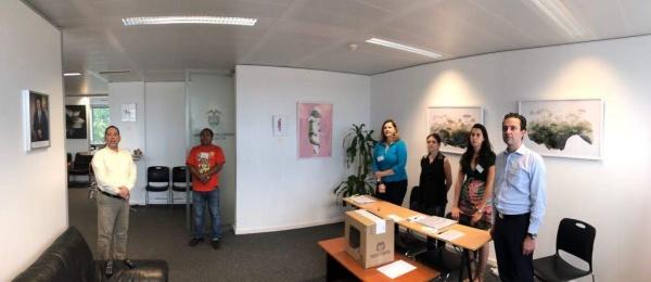 Inició la jornada electoral presidencial 2018 para la segunda vuelta en el Consulado de Colombia en Bruselas