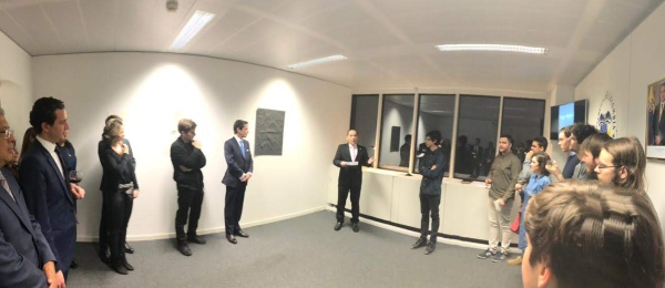 """Inauguración en el Consulado de Colombia en Bruselas de exposición """"Instrucciones para encontrar un alicángaro"""""""